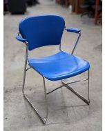 KI Perry Stack Chair (Blue)