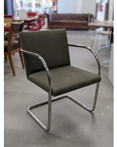 replica Knoll Brno tubular side chair