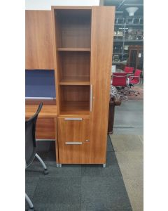 "73"" Lacasse Wardrobe Tower (Cherry Laminate) LH"