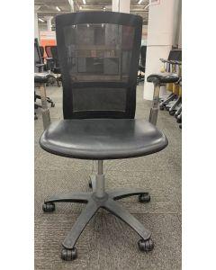 Knoll Life Task Chair (Blackout/Volo Black)