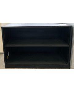"36""W Steelcase 2H Bookcase (Black Umber)"