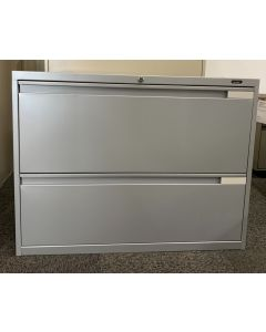 """Global Evolve 2H Lateral 36""""W Lateral File (Grey)"""