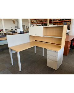 Herman Miller L-Shaped Desk