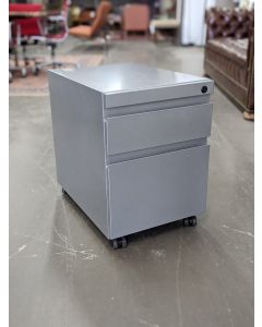 Mobile Box/File Pedestal (Silver)