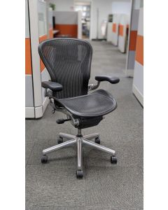 Herman Miller Aeron 'B' Work Chair (Carbon)