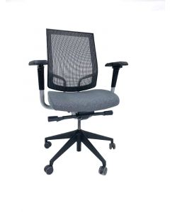 SitOnIt Focus Task Chair (Slate Mesh/Cosmos Eclipse)