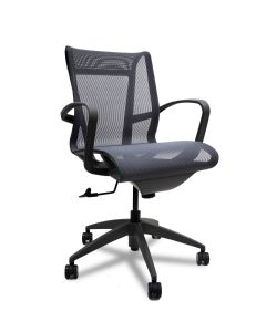 9to5 Seating Cydia Conference Chair (Slate)
