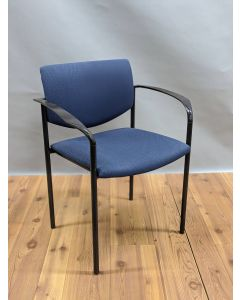 Steelcase Player Side Chair (Blue)