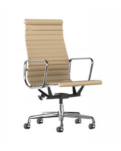 Herman Miller Eames Aluminum Group Chairs (Gold)
