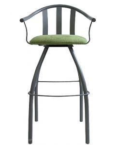 Gibo Creations Gatlin Bar-Height Chair (Lime Green)