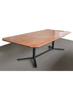 9' Copper Marble Rectangular Conference Table